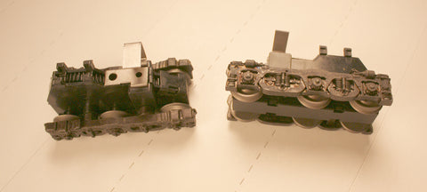 #PT3500-1    Power Trucks - Train Master - metal sideframes  ( Fits Athearn frame)