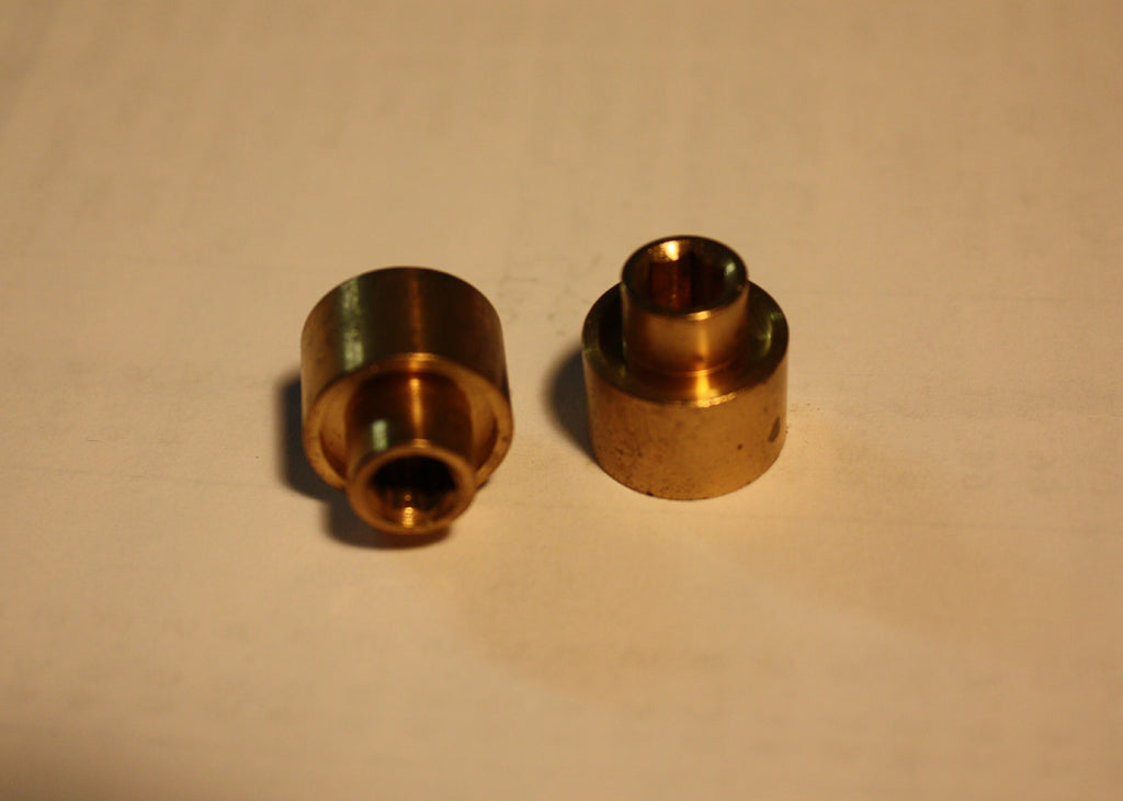 #20041 - Universal Small Custom Brass Flywheels (pair)