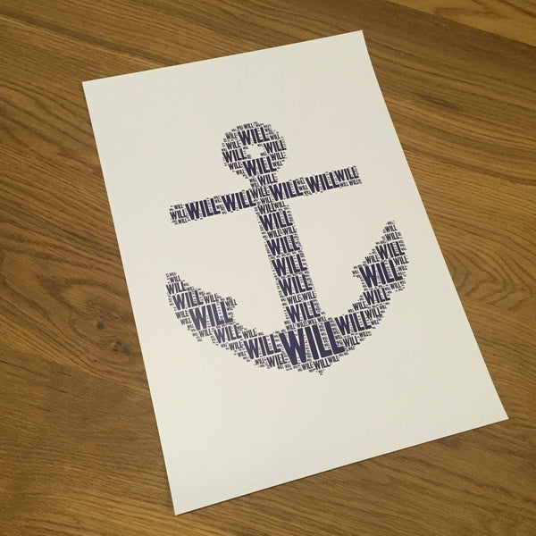 ANCHOR Name It Print