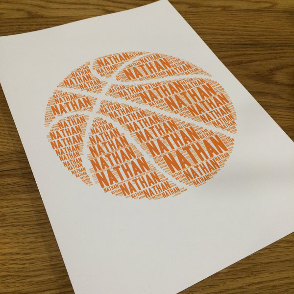 BASKETBALL Name It Print