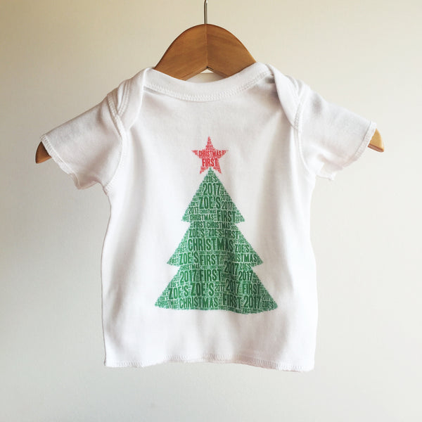 Christmas Name It Baby Tee