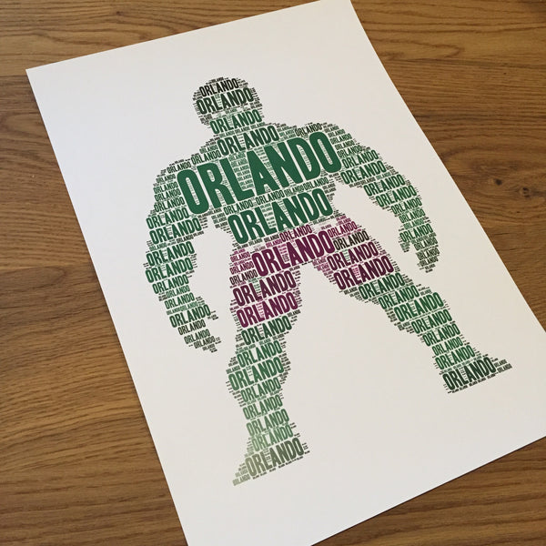 HULK Name It Print