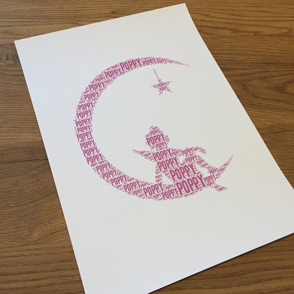 MOON STAR Name It Print