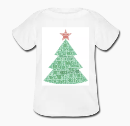 Christmas Name It Toddler Tee