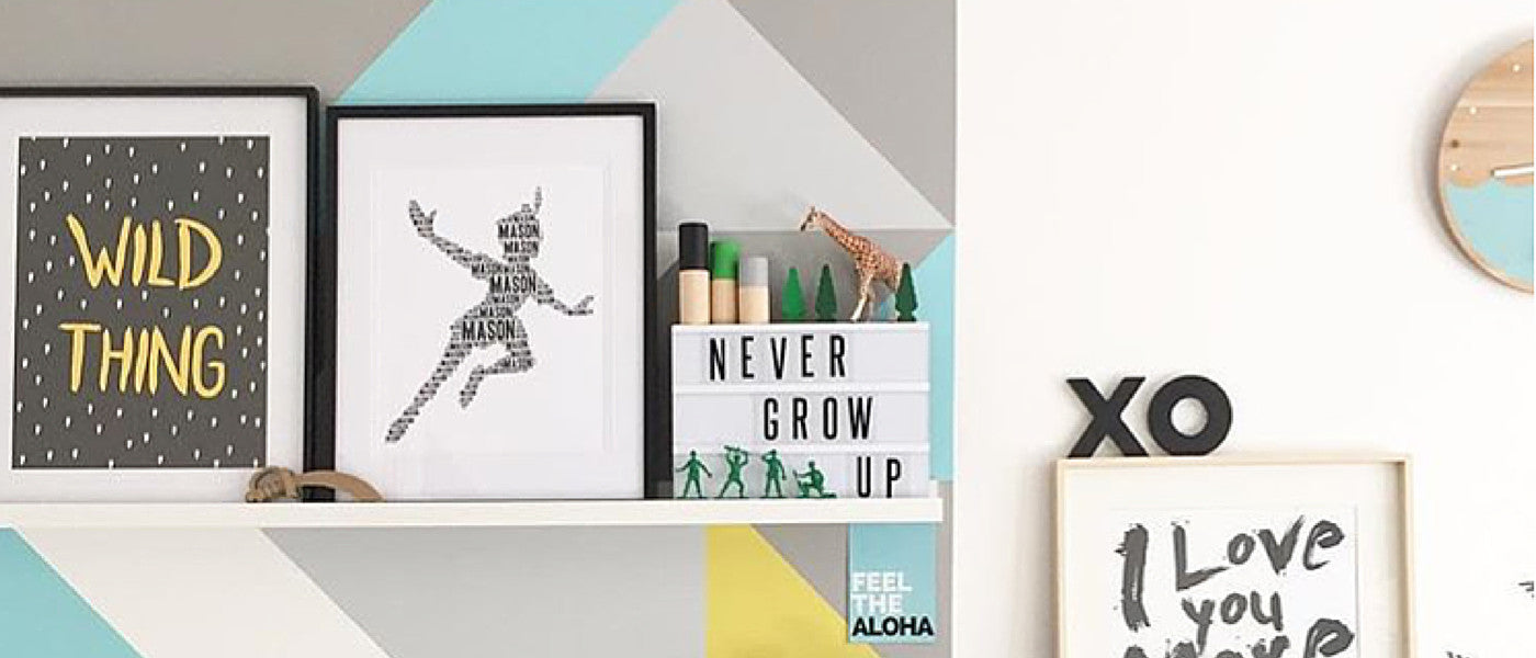 NAME IT PRINTS, kid wall art
