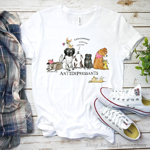 """Antidepressants"" T-Shirt"