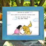 "DONATION Print: ""My Best Friend"" (Dog) Archival Giclée"