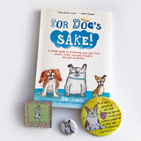 For Dog's Sake Book Bundle - Red and Howling