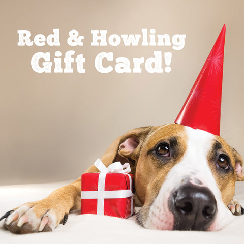 Gift Card - Red and Howling