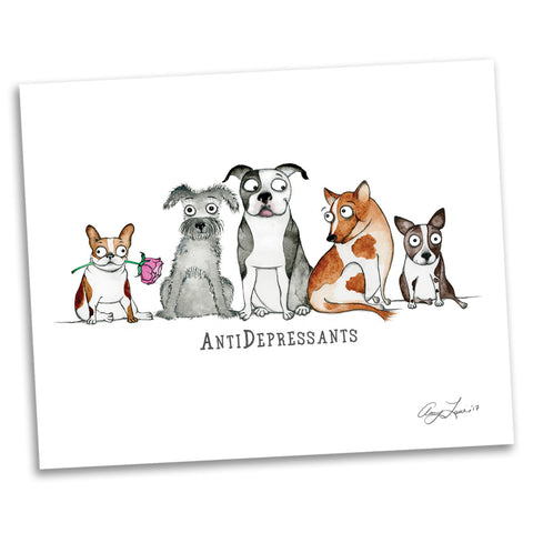 "DONATION Print: ""AntiDepressants"" (Archival & Signed Giclée)"