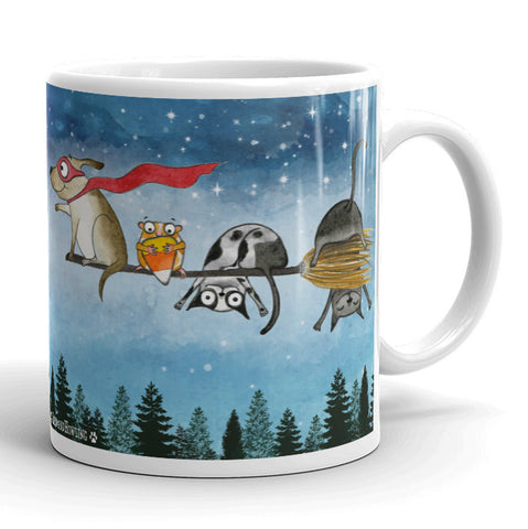 """Magic Halloween Potion"" Special Edition Mug - Red and Howling"