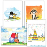 """Happy"" Greeting Card Set"