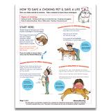 FREE POSTER: How to Save a Choking Pet! - Red and Howling
