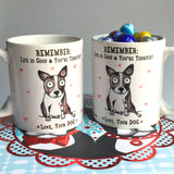 Remember: Life is Good mug - Red and Howling