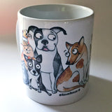 Be Kind mug - Red and Howling