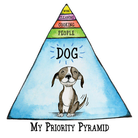 """My Priority Pyramid"" Archival/Signed Giclée Print"