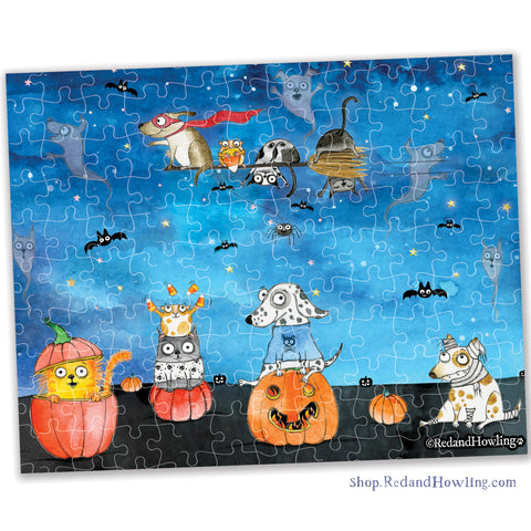 """Pumpkin Patch"" Collectible Mini Puzzle"