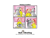 "NEW! Wall Calendar-""The Best Neighborhood""-Limited Edition - Red and Howling"