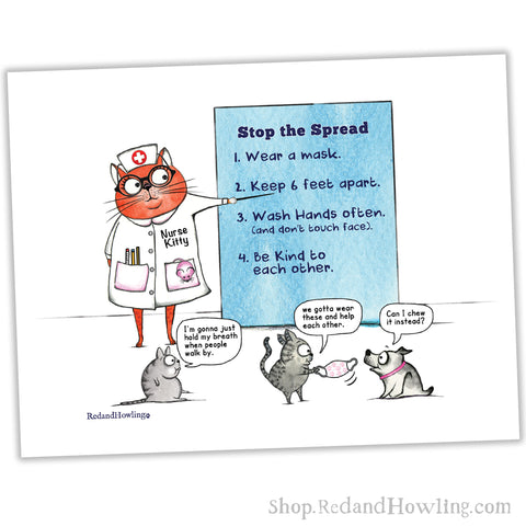 """Stop the Spread"" Archival Giclée Print"