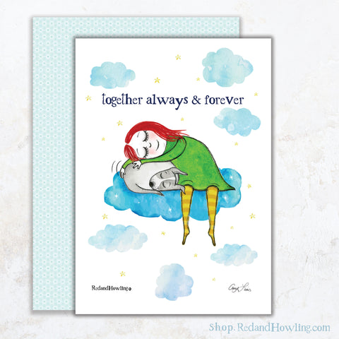 """Always Together"" Greeting Card"