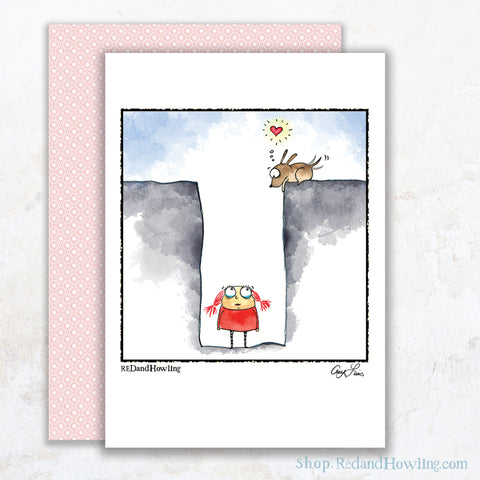 """Friends Make all the Difference"" Greeting Card"