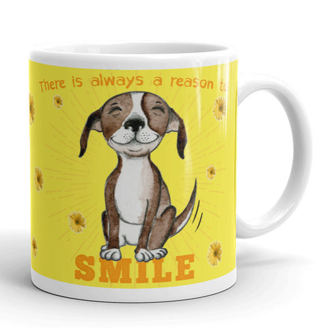 SMILE mug - Red and Howling