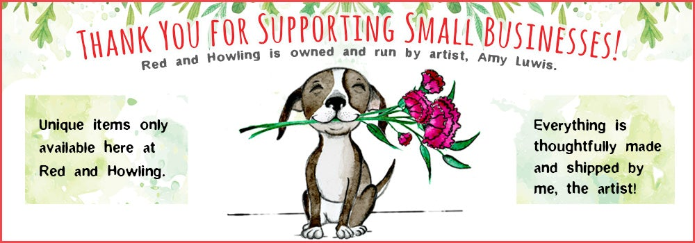 Red & Howling Drinkware Collection