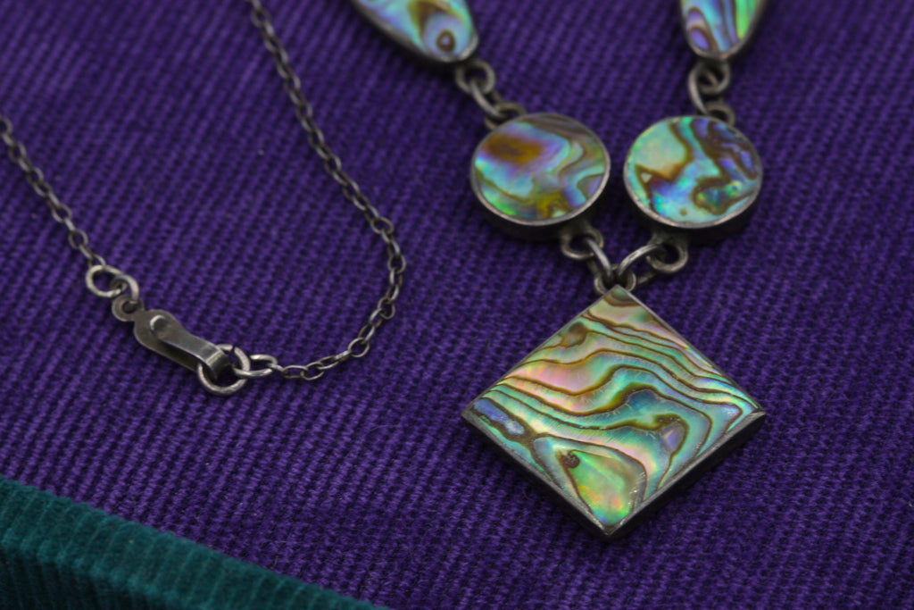1930s Abalone Necklace