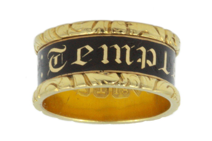 Georgian 1828 Mourning Band