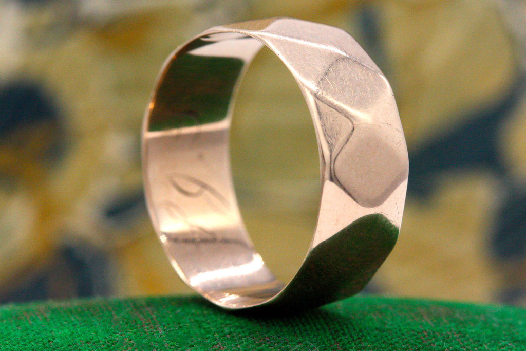 Victorian Faceted Cigar Band