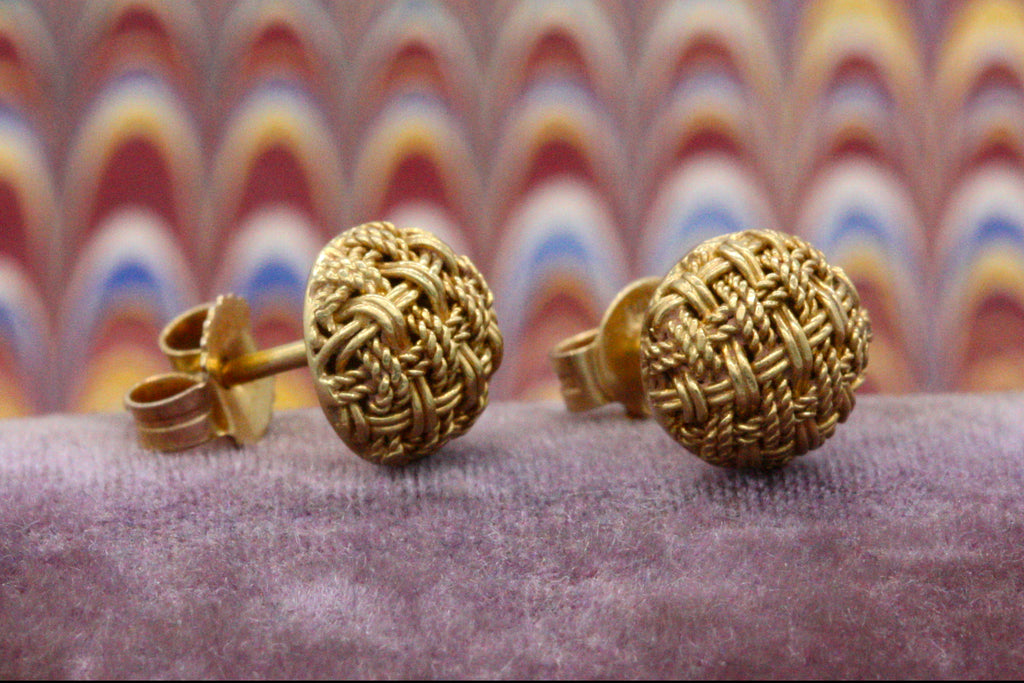 Vintage Woven Studs