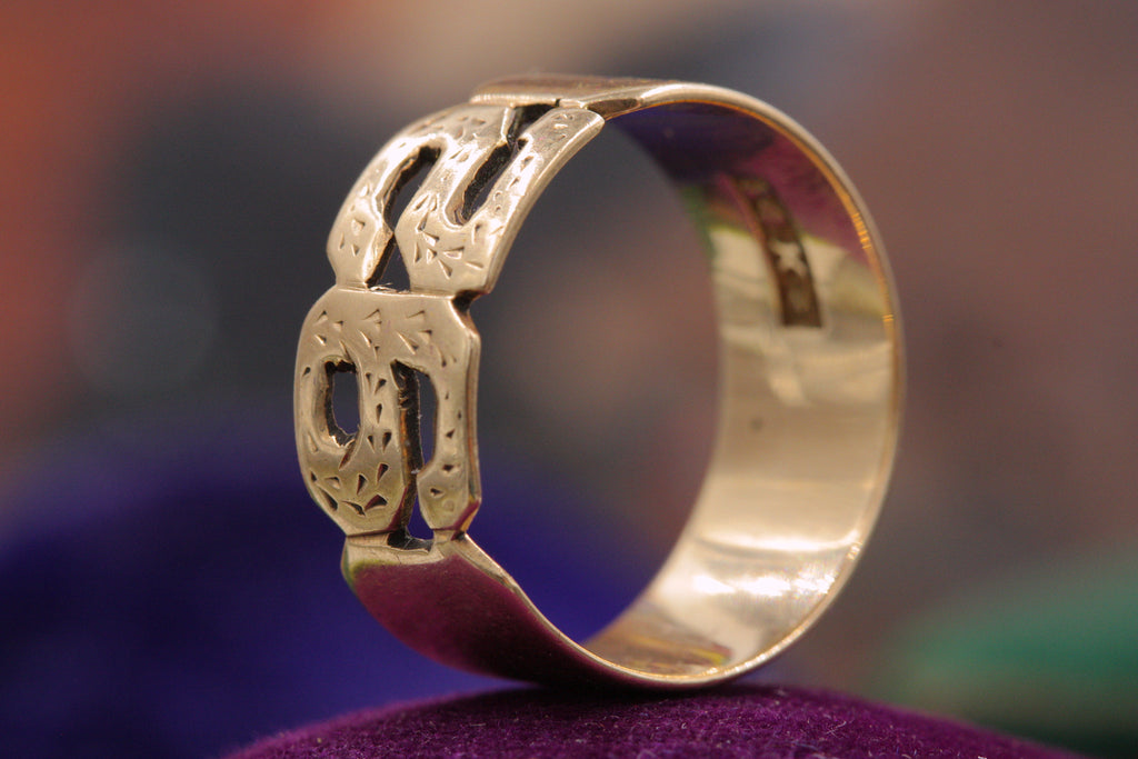 Late Victorian 1892 Ring