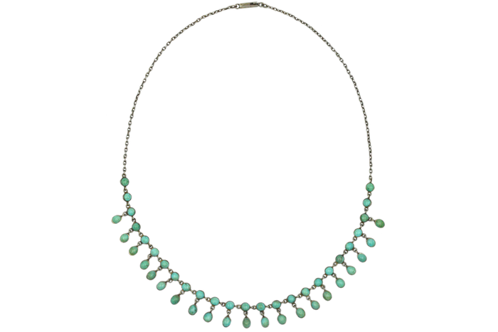 Edwardian Turquoise Festoon Necklace