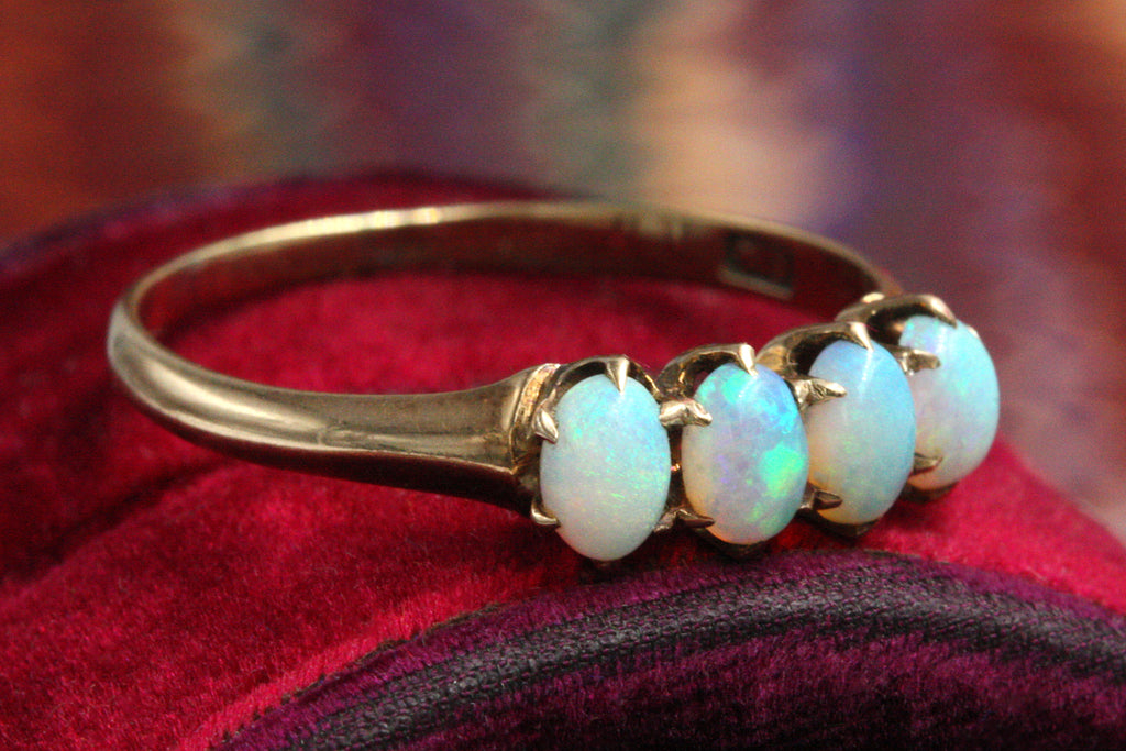Edwardian Four-Opal Ring