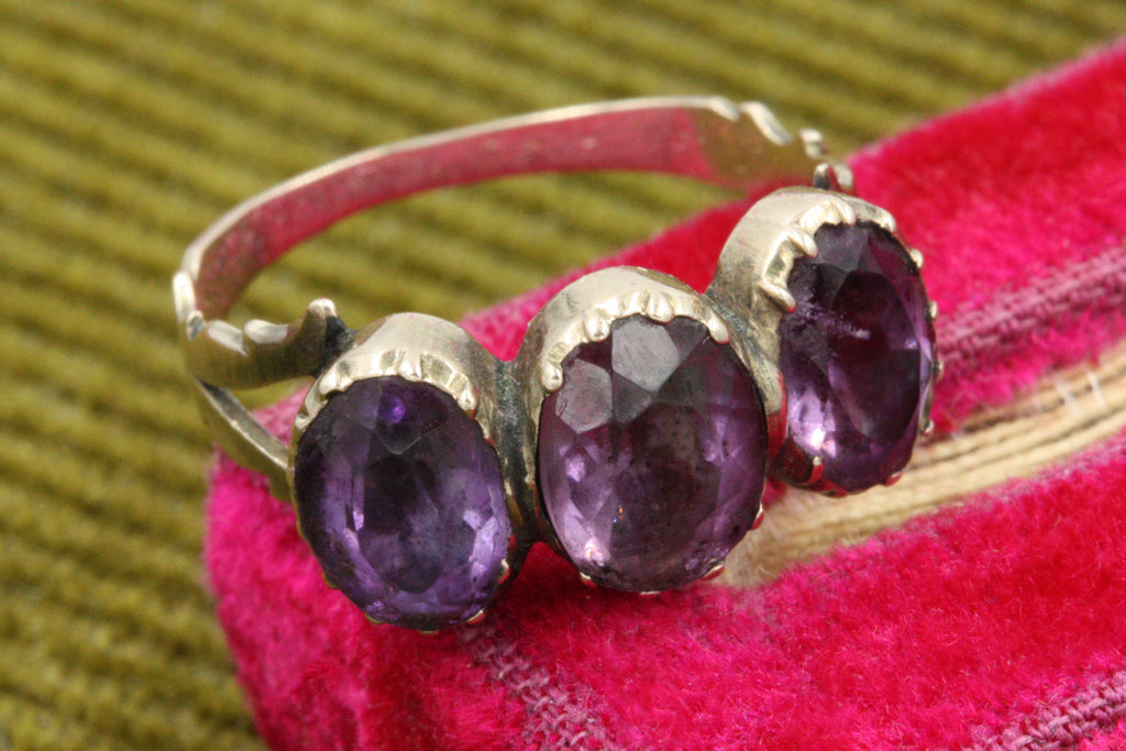 Georgian Amethyst Ring