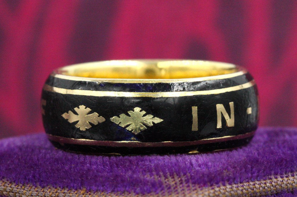 Victorian 'In Memory Of' Mourning Band