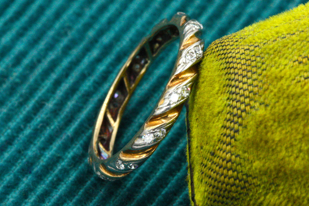 Vintage Diamond Twist Band