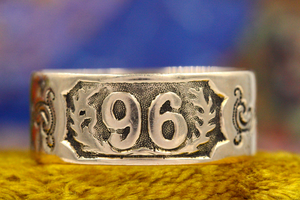 Victorian 1896 Date Band