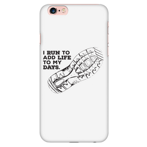 I Run To Add Life To My Days Phone Case (Cotton Summer)