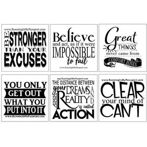 Motivation Stickers Combo Pack