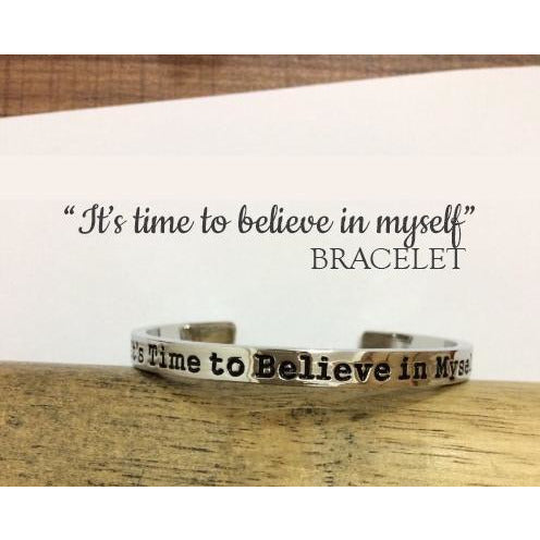 Believe In Myself Bracelet