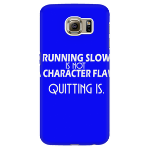 Running Slow Is Not a Character Flaw
