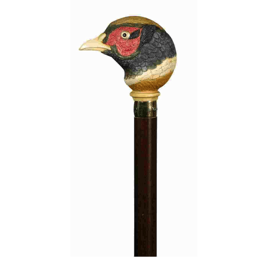 Classic Canes Handpainted Pheasant Cane - HOHOLIFE