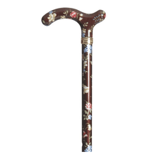 Load image into Gallery viewer, Classic Canes Burgundy Floral Chelsea Cane - HOHOLIFE