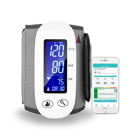 Smart Bluetooth Blood Pressure Monitor