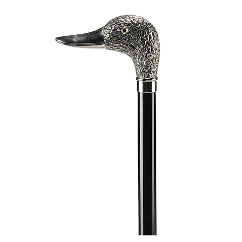 Ossenberg Chromed Duck Head Black Wood Stick - HOHOLIFE