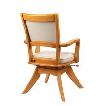 Load image into Gallery viewer, Japanese Turnable Dining Chair with Lock and Slide Feature