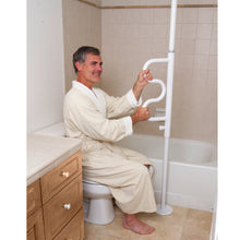 將圖片載入圖庫檢視器 Stander Security Pole & Curve Grab Bar - HOHOLIFE