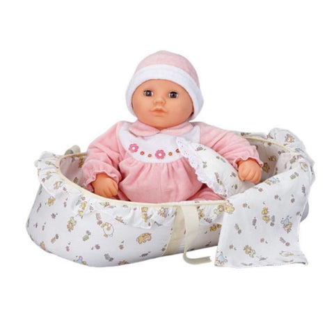 Crying & Laughing Baby Doll - Tartan
