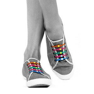 Silicone Shoelaces Elastic Slip On - HOHOLIFE